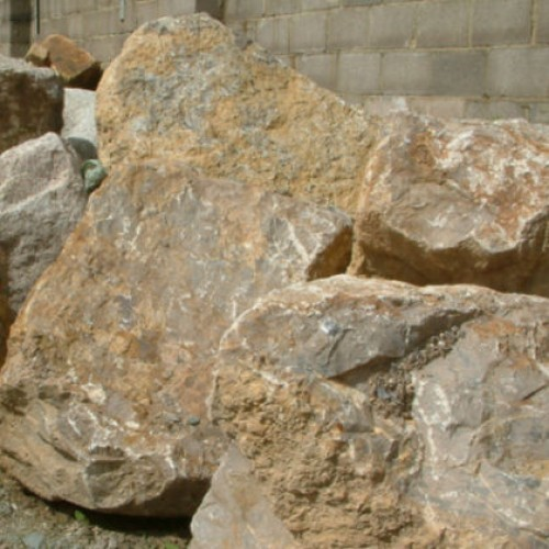Feature Stone Pond Stone Boulders