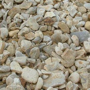 Blonde Flint Decorative Gravel
