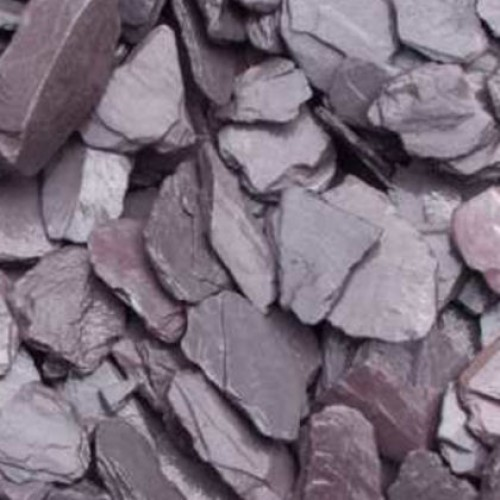 Plum Slate Decorative Chips