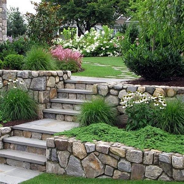Stone Walling Stone Feature Stone
